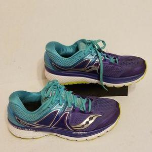 Saucony Triumph isofit women's shoes size 9.5 wide